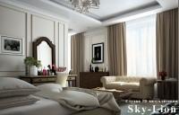 Визуализация интерьера комнаты