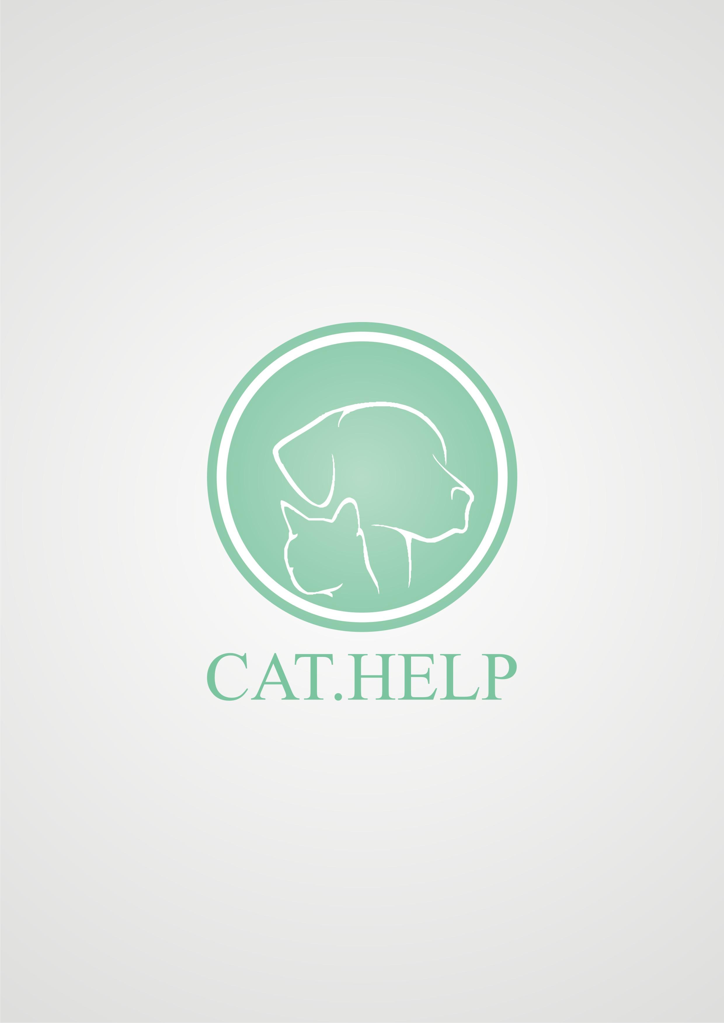 логотип для сайта и группы вк - cat.help фото f_08359dd91f3a5955.jpg