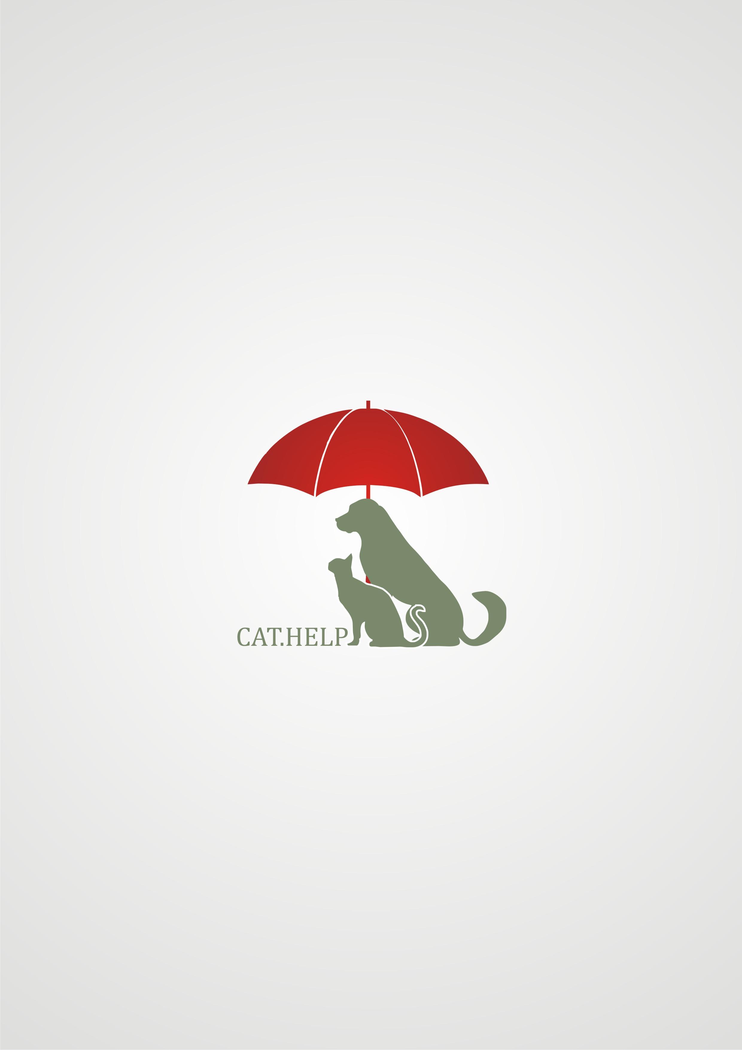 логотип для сайта и группы вк - cat.help фото f_57059ddb01e8587a.jpg