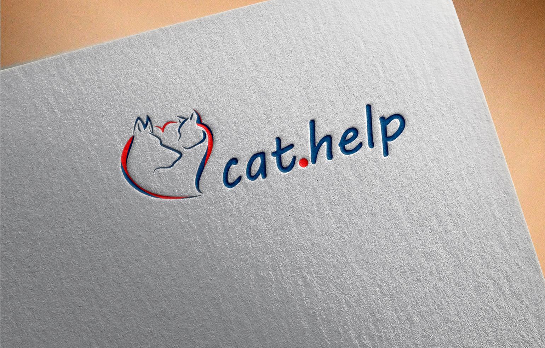 логотип для сайта и группы вк - cat.help фото f_15759df3e92217b1.jpg