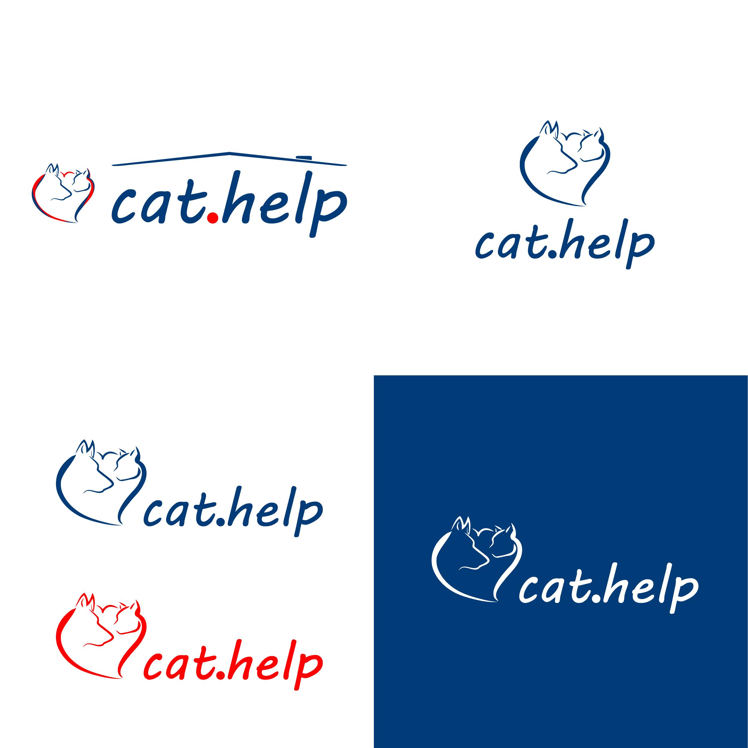 логотип для сайта и группы вк - cat.help фото f_53059df3ec527b06.png