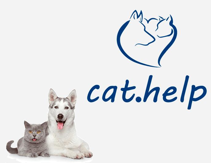 логотип для сайта и группы вк - cat.help фото f_73059df3ea023572.png
