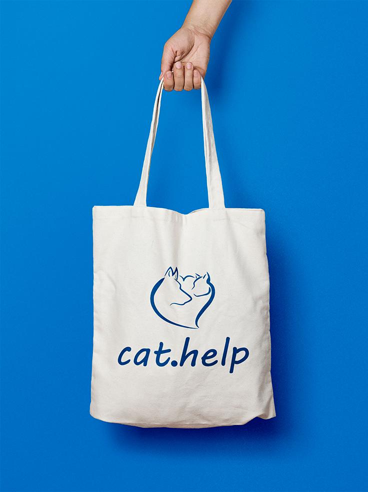 логотип для сайта и группы вк - cat.help фото f_80759df3eafcfb1b.jpg