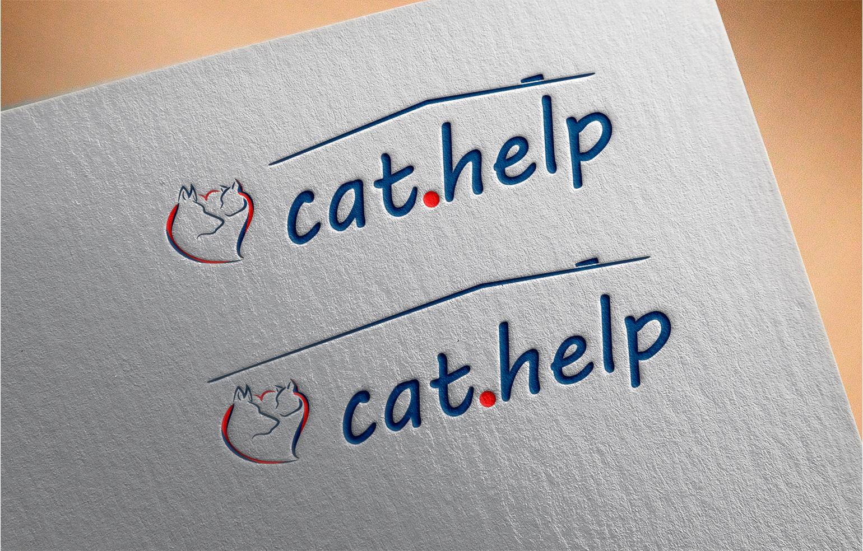 логотип для сайта и группы вк - cat.help фото f_86059df3eb883af4.jpg