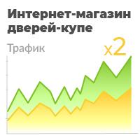 Двери-купе - увеличил поисковой трафик в 2 раза