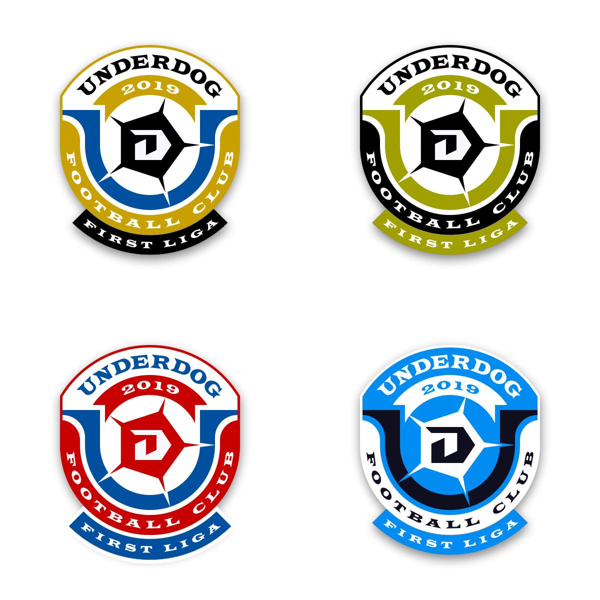 Футбольный клуб UNDERDOG - разработать фирстиль и бренд-бук фото f_2095cb350f279425.png