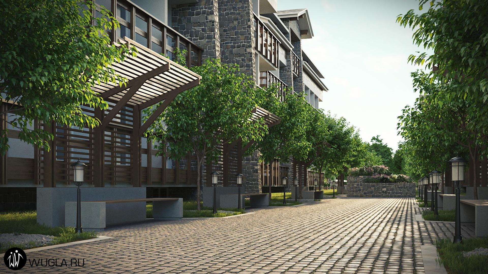 Генплан жилого комплекса