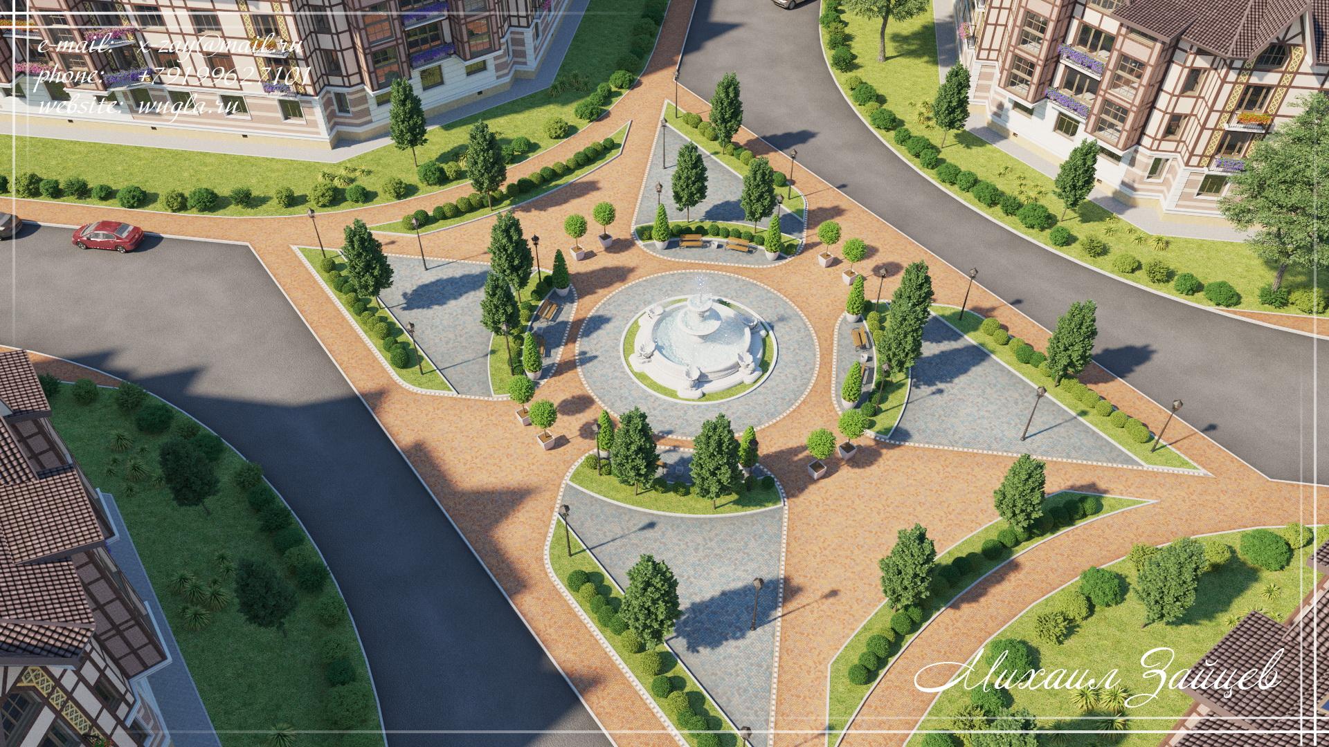 Генплан жилого комплекса в Нижнем Новгороде