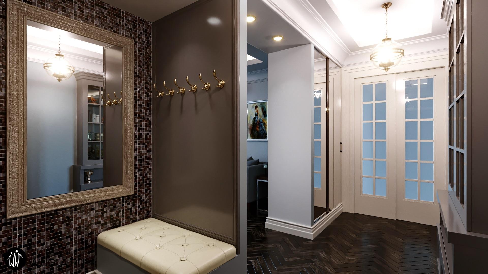Москва. Дизайн коридора.