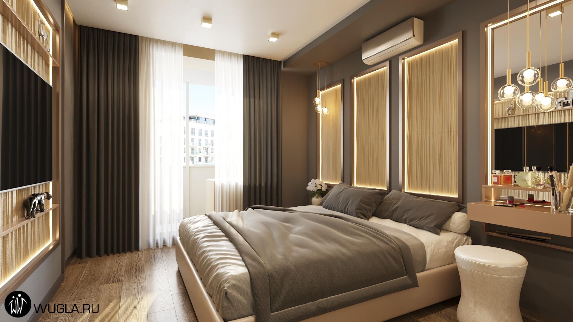 ЖК Мытищи Lite, Дизайн спальни.