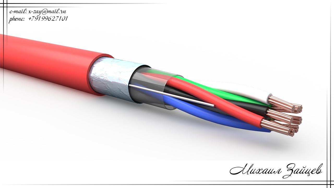 Визуализация провода