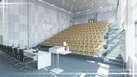 г. Долгопрудный, МФТИ. Дизайн конференц-зала.