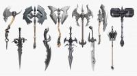 Набор древнего оружия