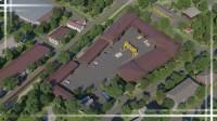 Анимация комплекса производственных зданий