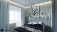МО, г. Одинцово. Дизайн спальни.
