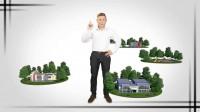Хромакей и 3d-эффекты для рекламного ролика