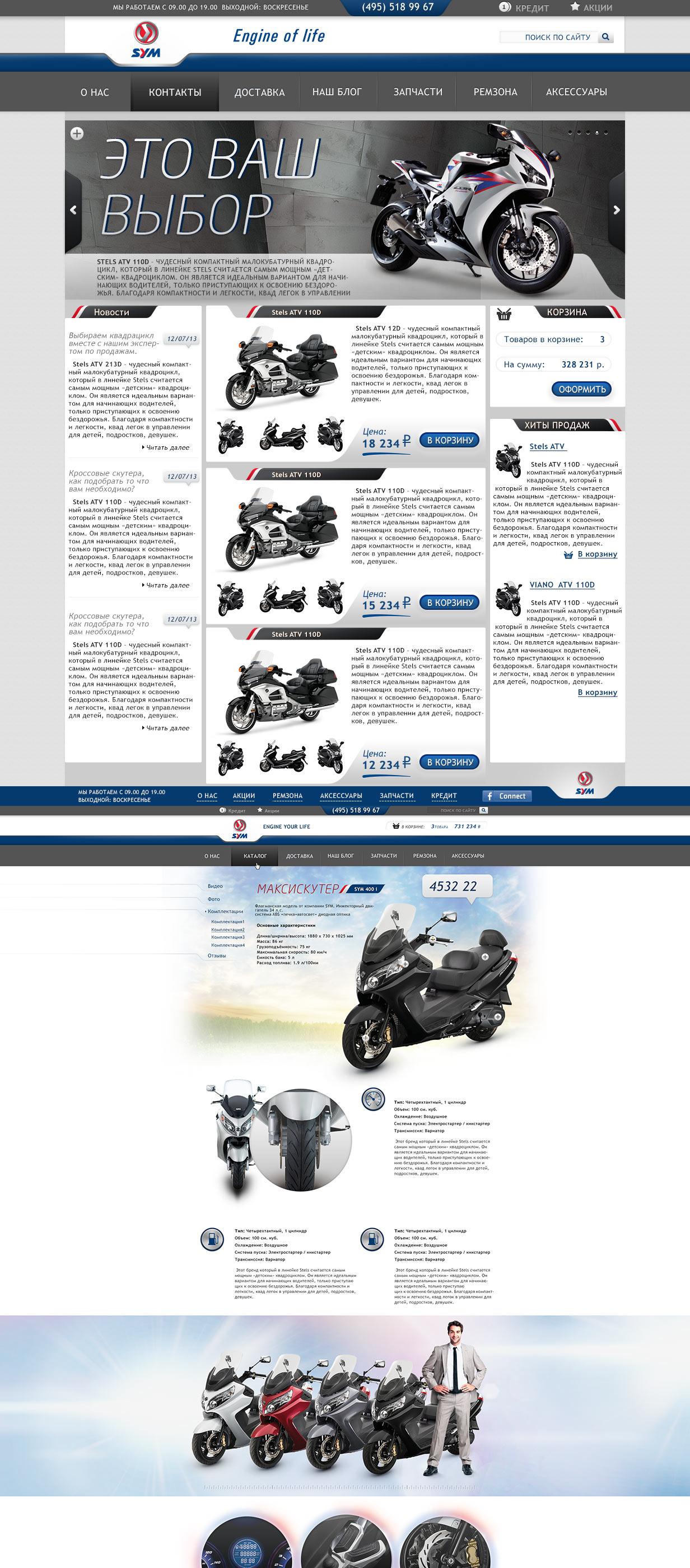 SYM motors