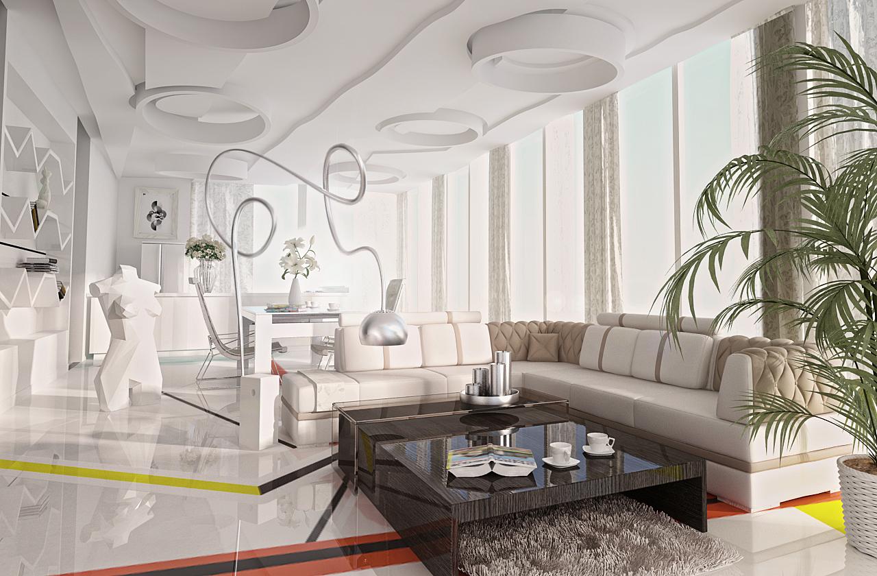 loft interior in ukraine