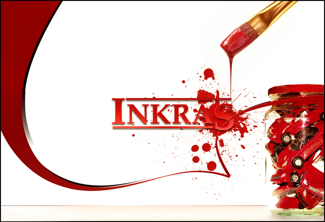 Inkras bannerPVH -car paint manufacture