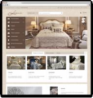 Интернет магазин элитного постельного белья lenvie.ru. Адаптивная вёрстка.