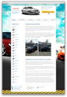 Корпоративный сайт тонировка автомобилей