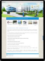 Сайт визитка клининговая компания