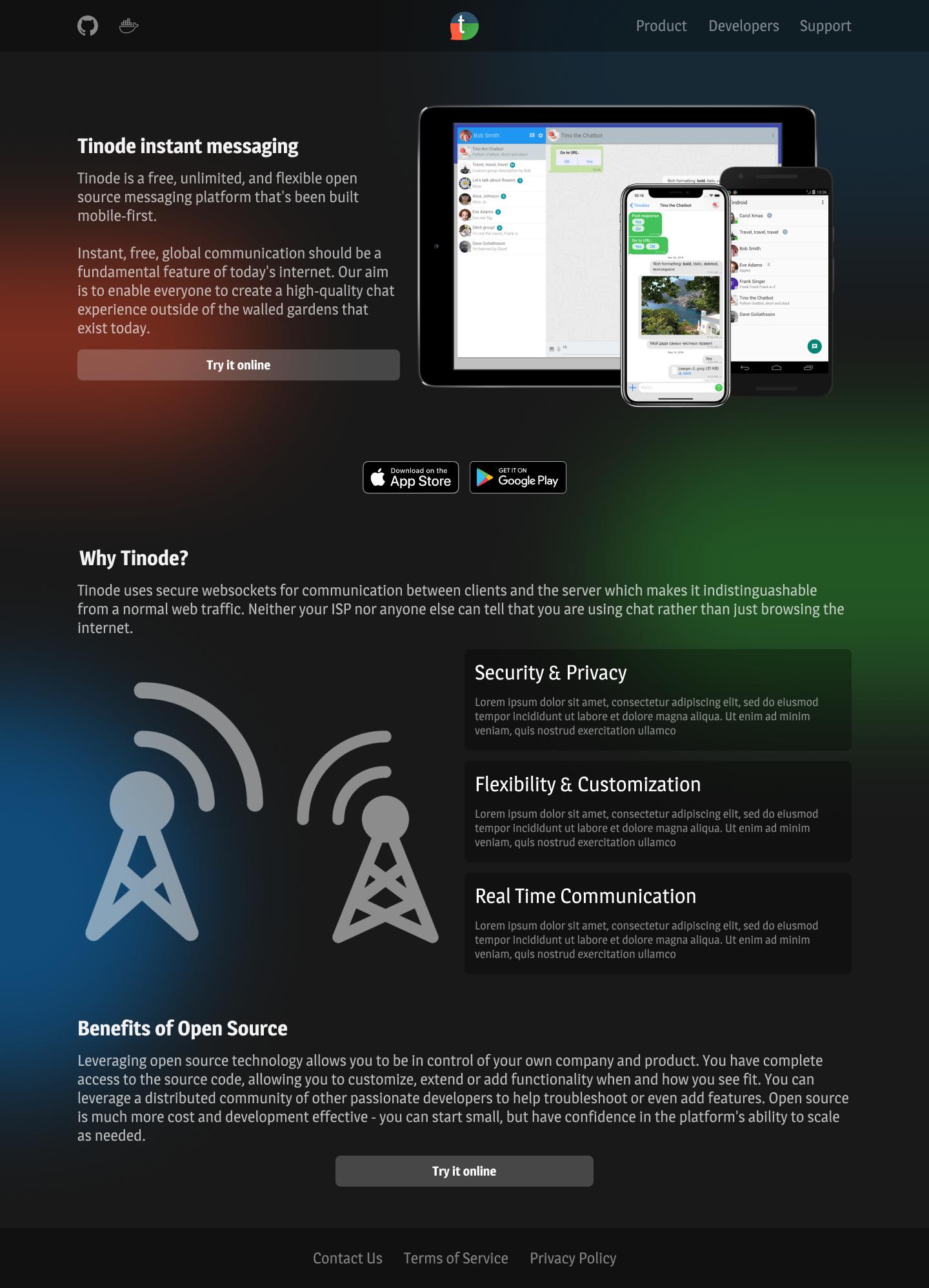 Дизайн сайта tinode.co фото f_5575d6c1fc30de89.png