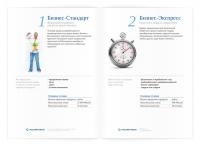 РОСЭНЕРГОБАНК. Дизайн информационного буклета