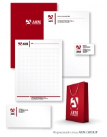ARM GROUP: фирменный стиль