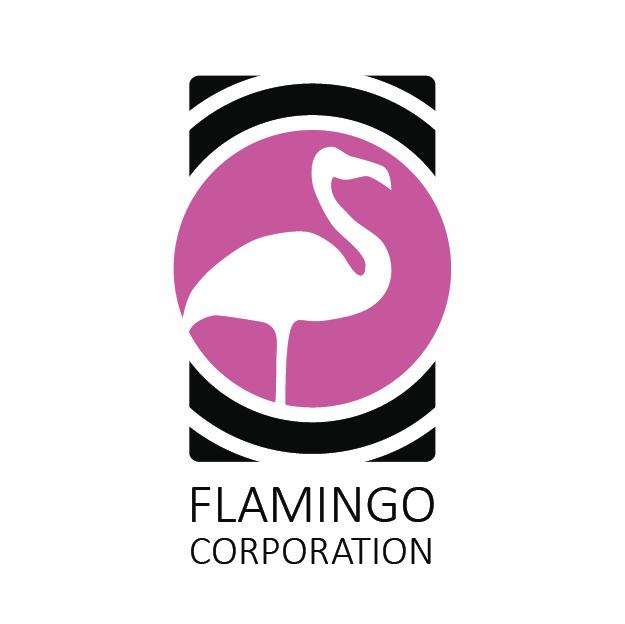"""Логотип """"FLAMINGO CORPORATION"""""""