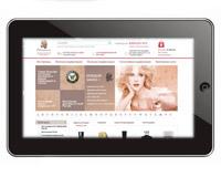 Сайт для интернет-магазина элитной парфюмерии parfumes.ru