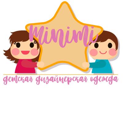 Цель: Разработать логотип детской дизайнерской одежды Мinimi фото f_1535b2521e61bf53.png
