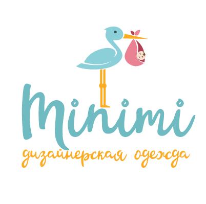 Цель: Разработать логотип детской дизайнерской одежды Мinimi фото f_4015b2521d6bacdc.png