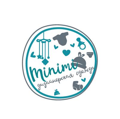 Цель: Разработать логотип детской дизайнерской одежды Мinimi фото f_6115b2521cdd706b.png