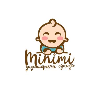 Цель: Разработать логотип детской дизайнерской одежды Мinimi фото f_8295b2521b0695cf.png