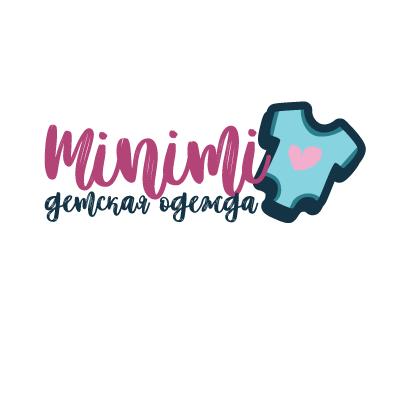 Цель: Разработать логотип детской дизайнерской одежды Мinimi фото f_8865b2521b5f37f2.png