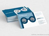 Разработка визитной карточки