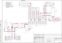 Схема теплотехническая