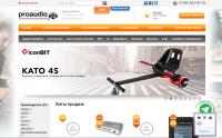Магазин Proaudio - http://proaudio80.tmweb.ru – реализован на cms Bitrix