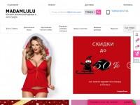 Магазин эротической одежды и аксессуаров - https://madamlulu.ru – реализован на cms Bitrix