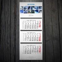 Квартальный календарь AB SYSTEM