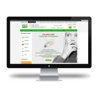 Страница «Ошибка 404» для сайта 100lustr.ru