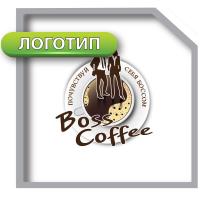 Логотип кофейни «Boss Coffee»