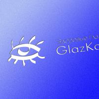 """Логотип """"GlazKakAlmaz"""""""