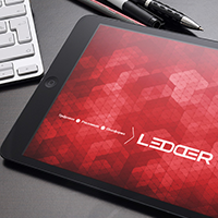 Презентация и фирменный стиль  LΞDDΞR  (Ledder)