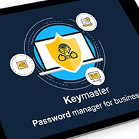 Логотип и презентация Keymaster