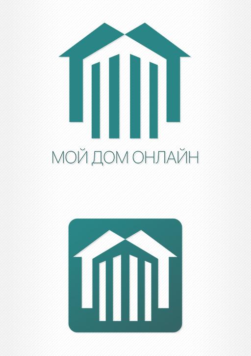 «Мой Дом Онлайн» - логотип мобильного приложения