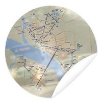 Схема движения автобусов (фрагмент)