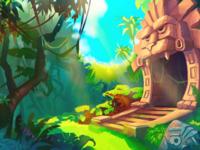 Контент для игры | game art – иллюстрация, локация, набор для интерфейса
