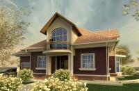 Индивидуальный жилой дом (дом 1).
